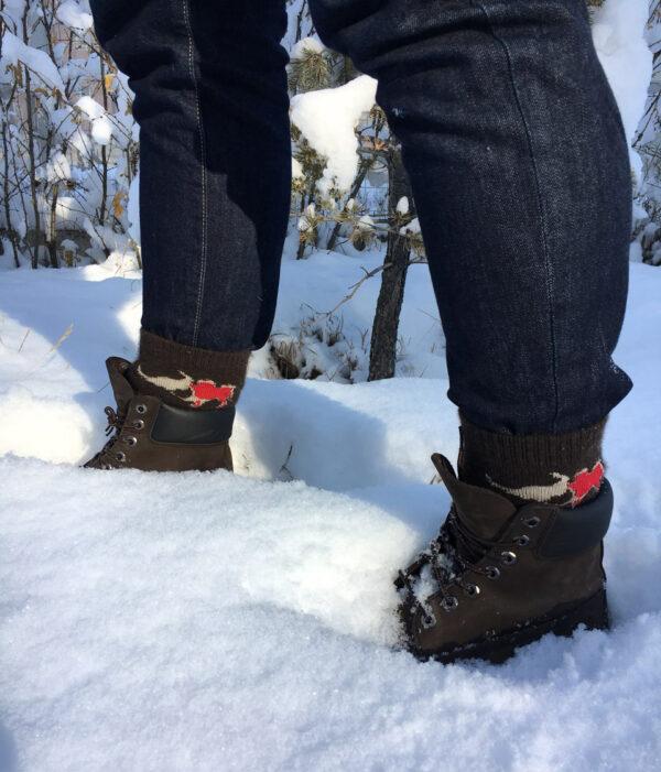ya wool socks in winter